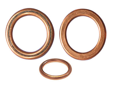 Copper Asbestos Rings